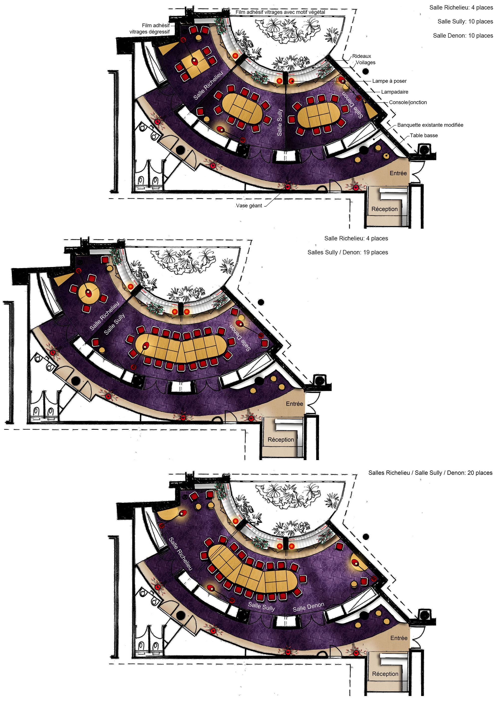 2 Club Opéra aménagements