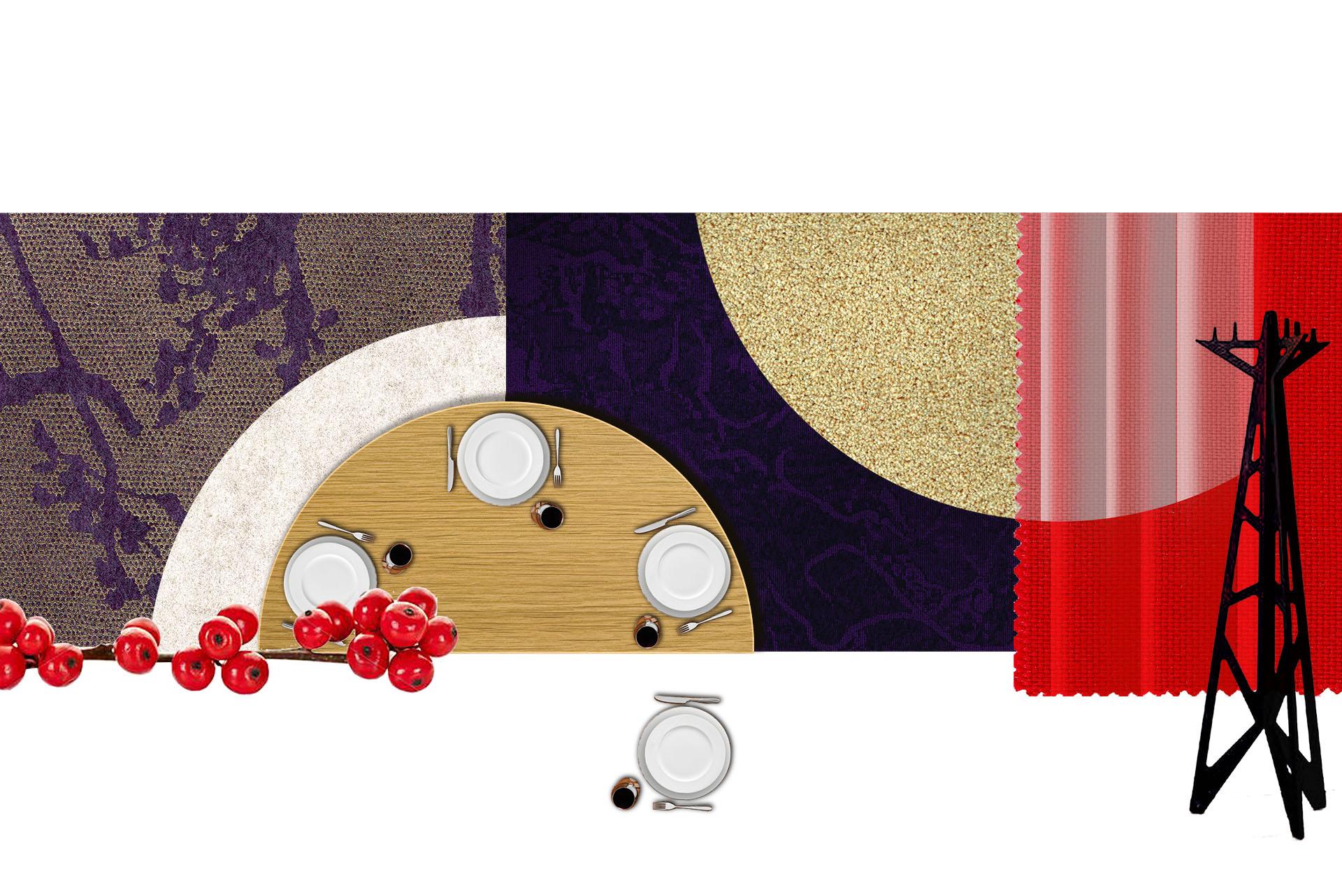 3 Club Opéra matériaux