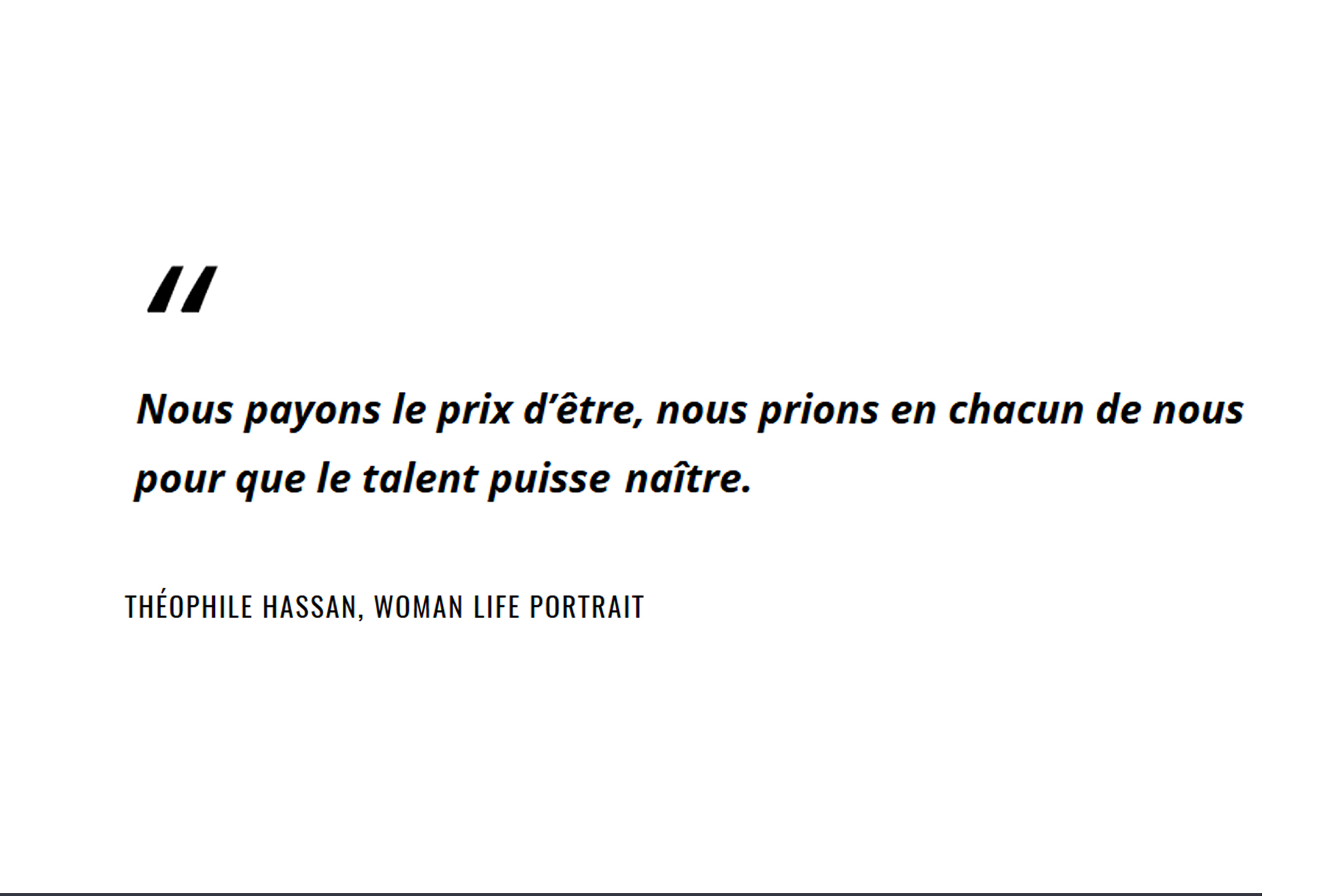 Citation Hassan writer