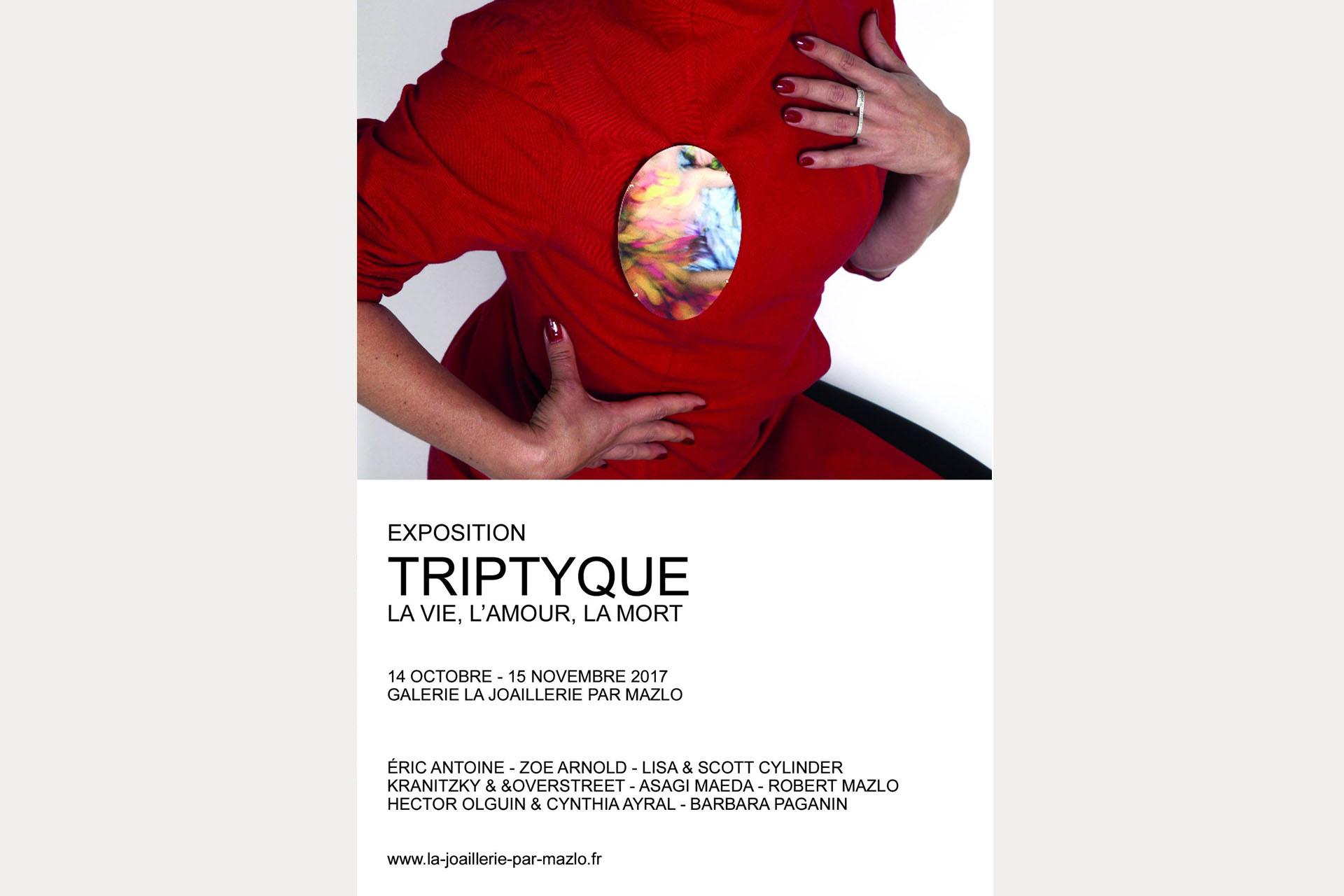 Triptyque expo affiche