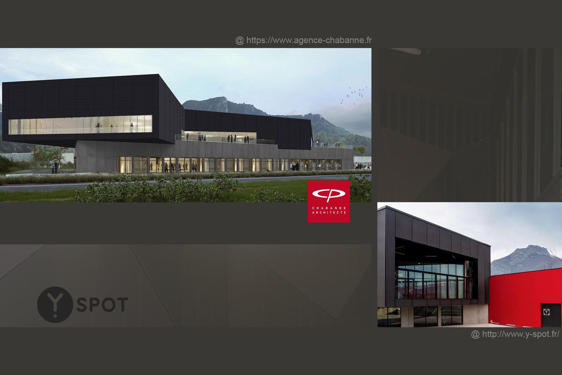 1 Y Spot Labs Bâtiment